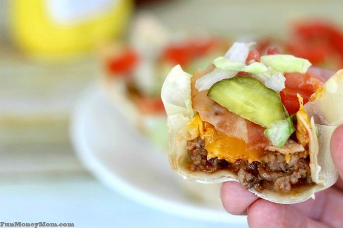 My girls loved having these bacon cheeseburger cups for dinner