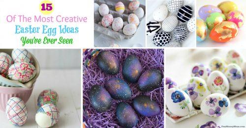 Easter egg ideas Facebook