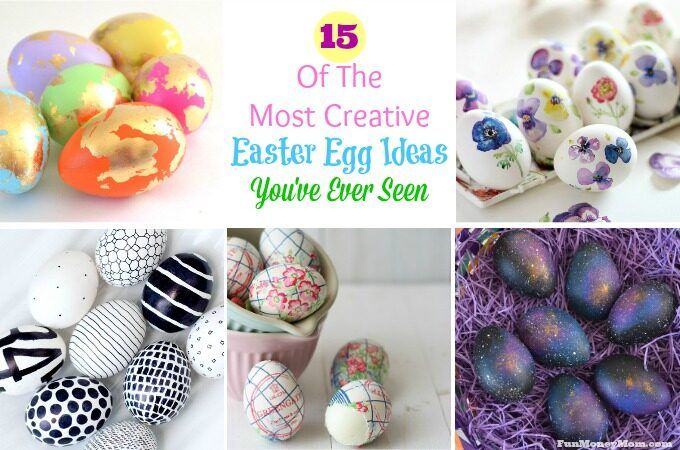 These creative Easter egg ideas will get you in the holiday spirit