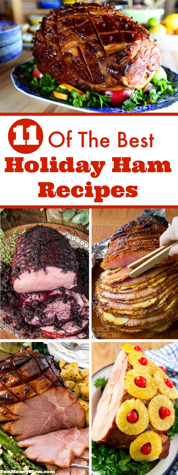 Have you been searching high and low for recipes, trying to find just the right one for your holiday dinner? Any of these mouthwatering holiday hams will be perfect...the hard part's just going to be narrowing down your choices!