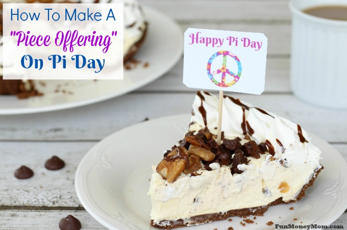 Piece offering on Pi Day feature