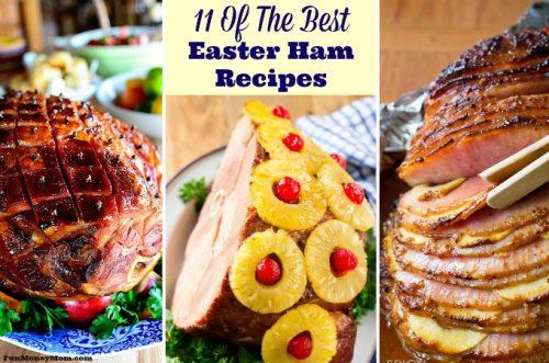 Easter ham recipes feature