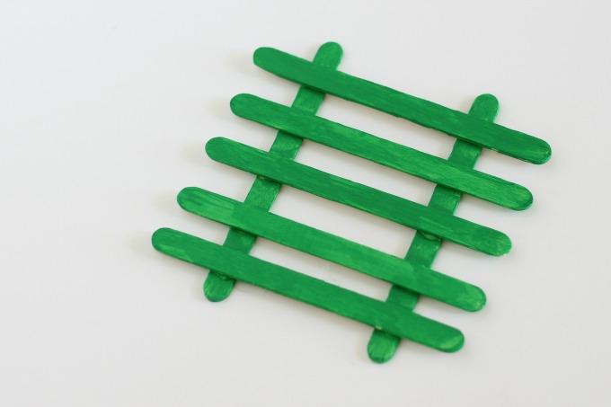 Ladder for leprechaun trap