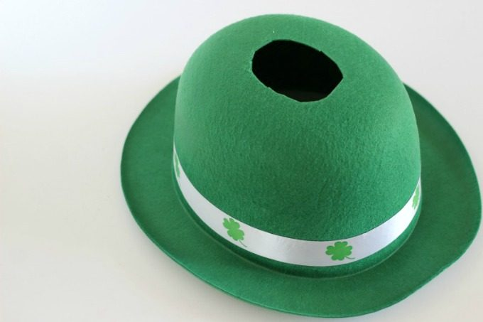 You'll need to cut a hole to catch the leprechaun