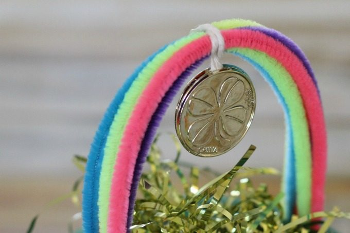 Tie more gold to the rainbow above your leprechaun trap