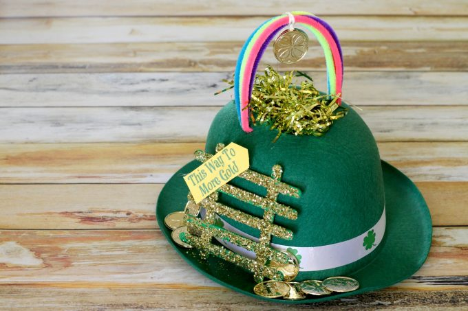 Now you have the perfect leprechaun trap