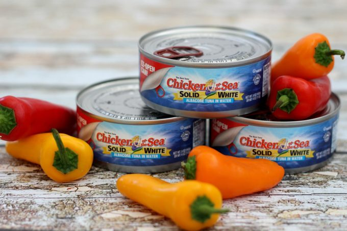 Chicken Of The Sea EZ-Open Cans make opening a can of tuna so simple