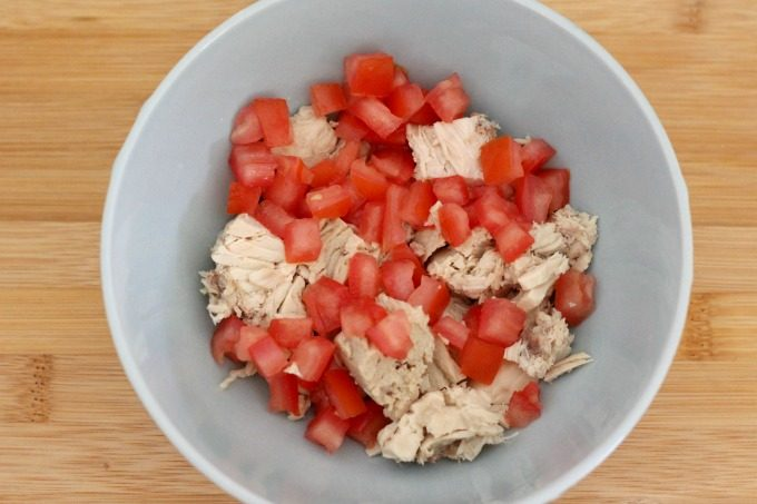 Next you'll want to add some tomatoes