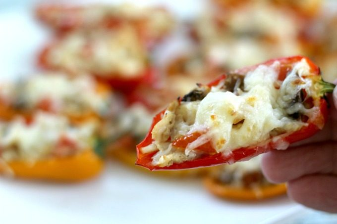These Sweet Pepper Tuna Poppers are oh so good