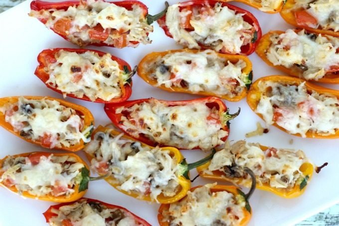 Your Sweet Pepper Tuna Poppers are going to disappear fast