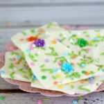 The Perfect White Chocolate Bark Recipe To Celebrate Spring