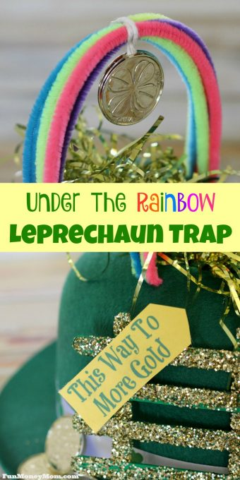 Want to catch a leprechaun so you can steal his pot of gold? No leprechaun will be able to escape this awesome leprechaun trap!