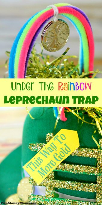 Want to catch a leprechaun so you can steal his pot of gold? No leprechaun will be able to resist this awesome leprechaun trap!