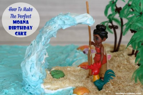 How to make the perfect Moana birthday cake feature