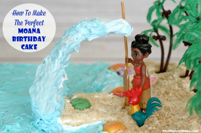 How To Make The Perfect Moana Birthday Cake