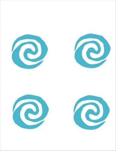 Moana symbols for tracing