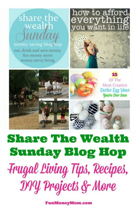 Join us for the Share The Wealth Sunday Blog Hop