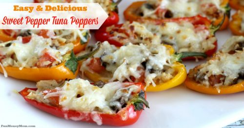 Sweet Pepper Tuna Poppers Facebook