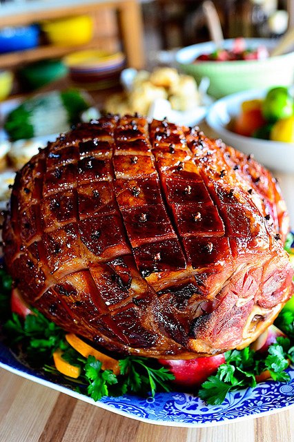 Easter Ham Recipes Glazed Easter Ham