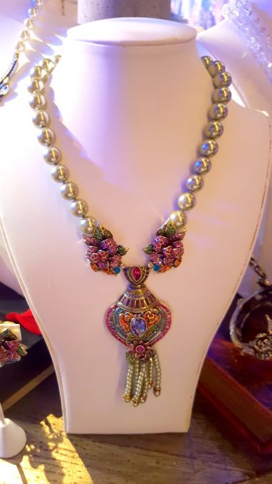 Beauty And The Beast inspired jewelry at Disney Social Media Mom's Celebration 2017