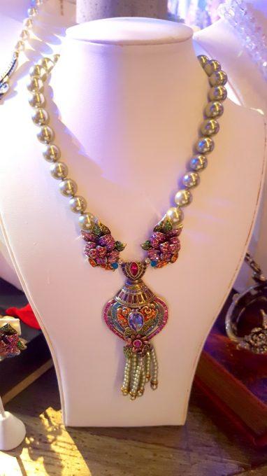 Beauty And The Beast inspired jewelry at Disney Social Media Mom's Celebration 2017