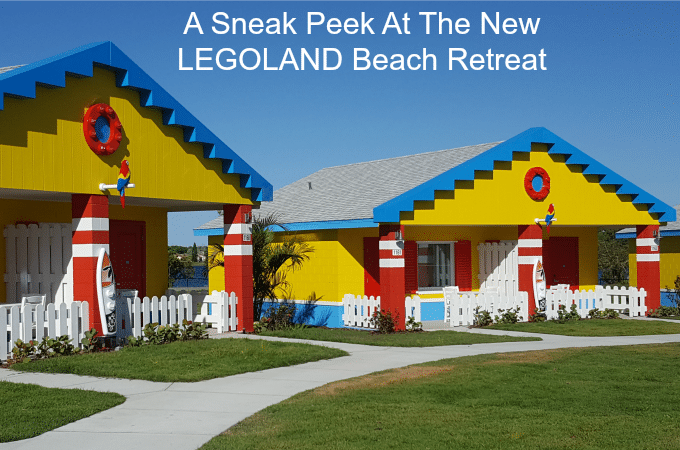 A Sneak Peek At The New LEGOLAND Beach Retreat