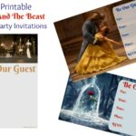 Free Printable Beauty And The Beast Birthday Party Invitations  & Fun Movie News