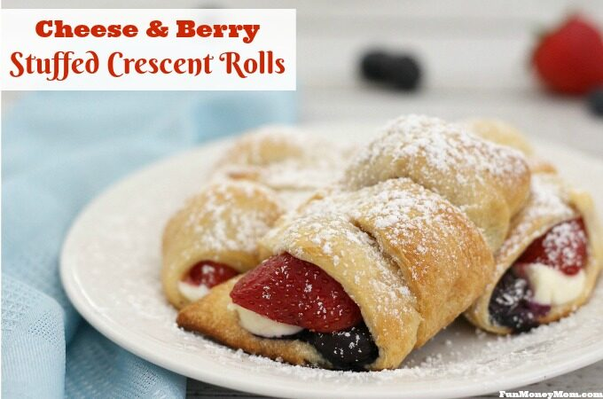 Celebrate spring with these Cheese & Berry Crescent Rolls