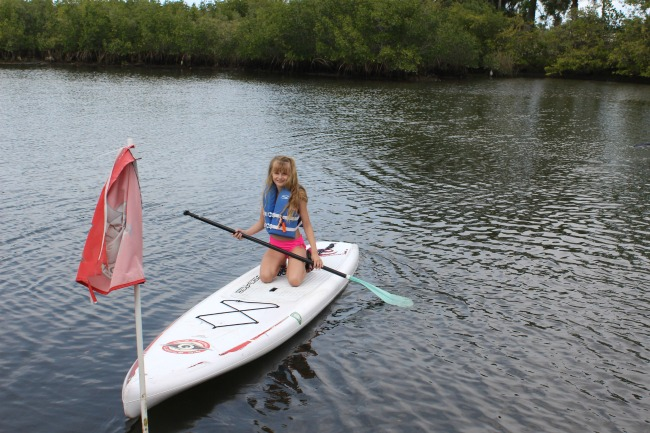 Try paddleboarding in Pasco County