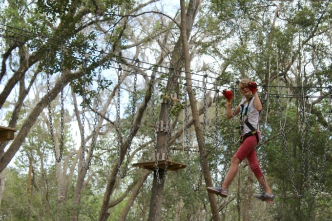 Kids and adults alike have fun at Treehoppers in Pasco County
