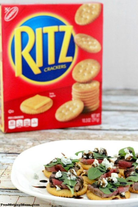 There are so many great appetizers to be made with RITZ Crackers.
