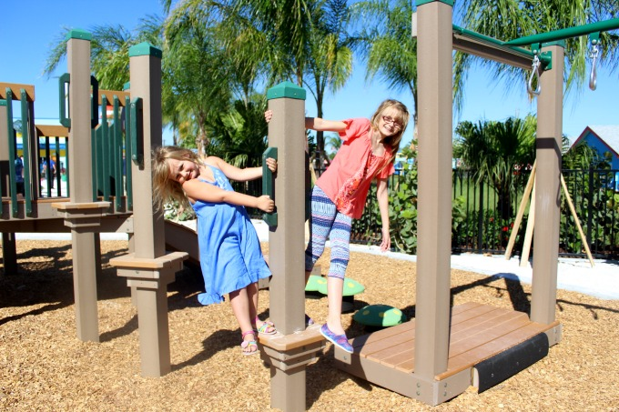 Going to the park is the perfect activity to help raise healthy kids
