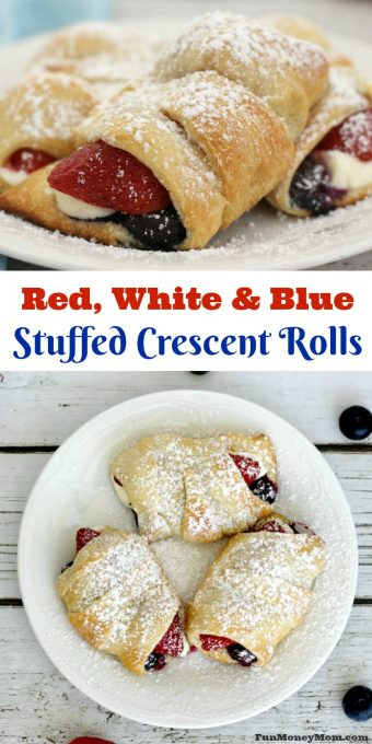 Want to make a fun treat for the holidays? These red, white and blue treats will make anyone want to celebrate...perfect for July 4th, Memorial Day or anytime you're feeling patriotic!