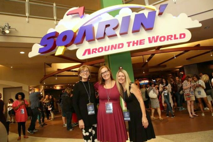 Soarin' at the Disney Social Media Mom's Celebration 2017