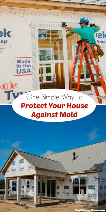 Having mold in your house can be a serious problem and it's something you never want to have to deal with. Find out the best way to protect against it. #TrustTyvek #ad