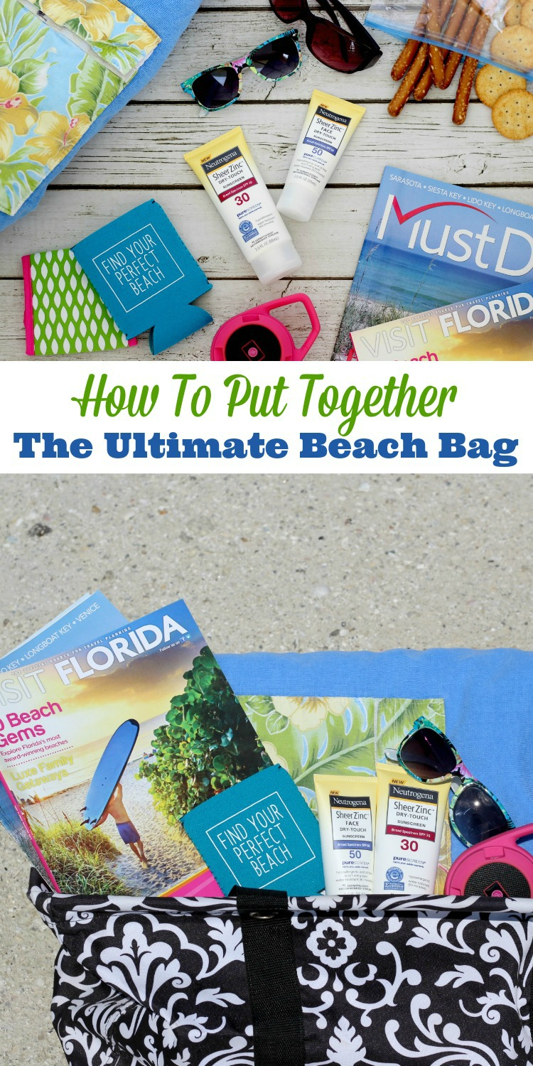 Heading to the pool or beach this summer? Find out exactly what you need to include when you put together the ultimate beach bag. #SummerSkinReady #ChooseSkinHealth #ad