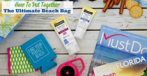 Ultimate beach bag facebook