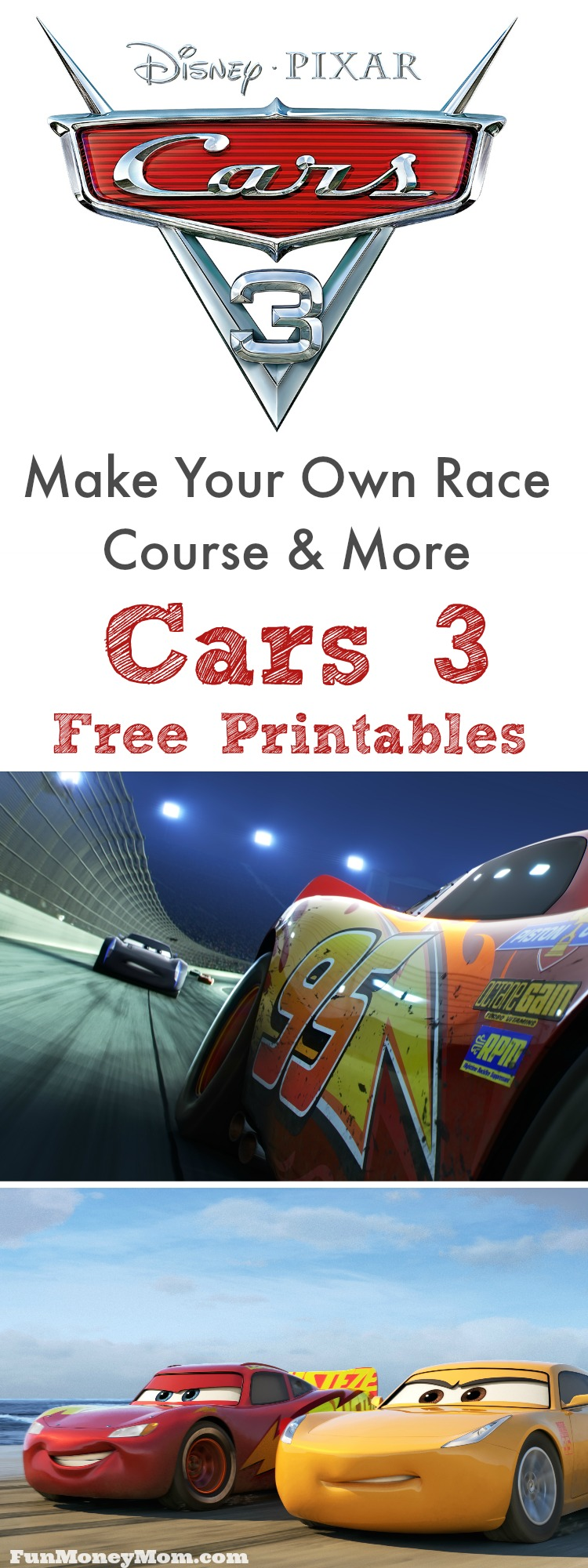 Do your kids love Lightening McQueen? The release of Cars 3 is almost here and I've got Cars 3 free printables to keep the kids entertained until then.