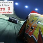 Make Your Own Race Course & More Cars 3 Free Printables