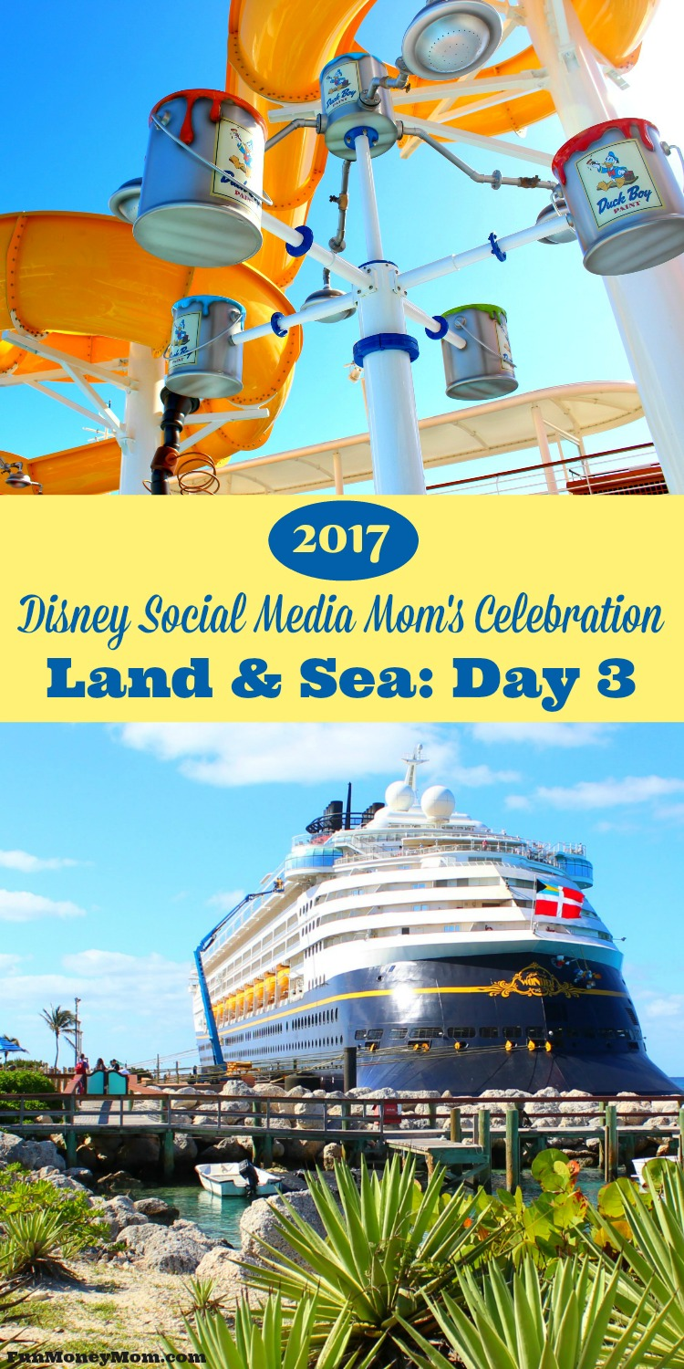 Join me for Day 3 of the 2017 Disney Social Media Moms Celebration to find out what the rooms are like on board the Disney Wonder, which desserts you don't want to miss at Tiana's Place and why you don't have to bring the kids along to have an amazing time.