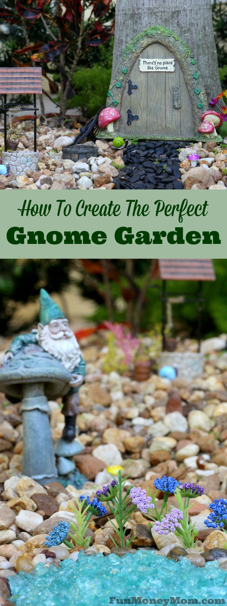 Looking for new ways to spend some outdoor time with the kids? Why not have fun creating your own gnome garden together. #FreeOfSulfates #ad