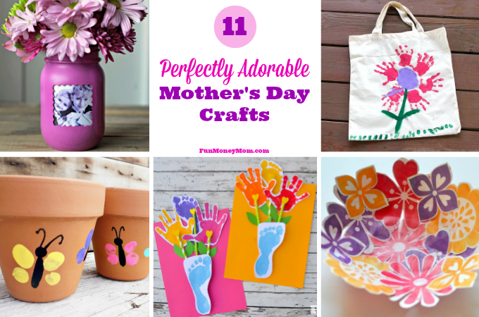 11 Perfectly Adorable Mother's Day Crafts