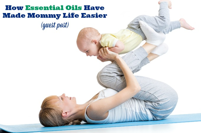 Essential oils help to make life easier for busy moms