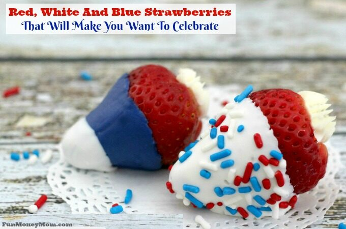 Red White And Blue Strawberries feature