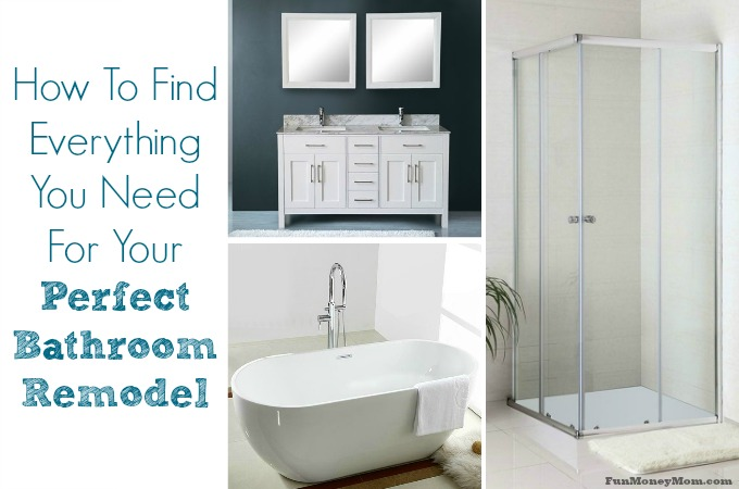 How To Find Everything You Need For Your Perfect Bathroom Remodel