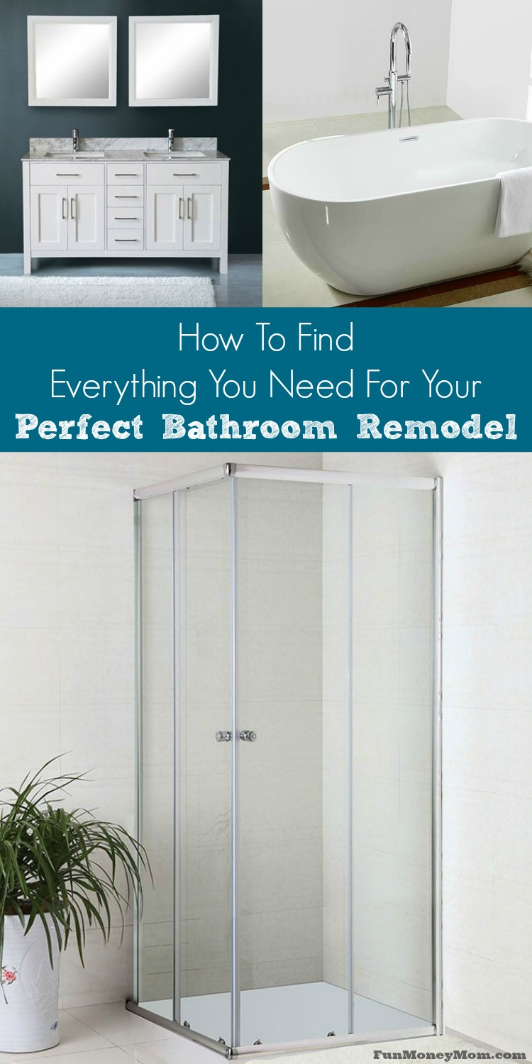 How to find everything you need for your perfect bathroom for Need to remodel my bathroom