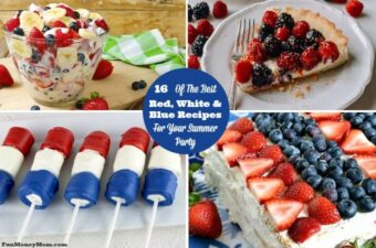 red white and blue recipes feature