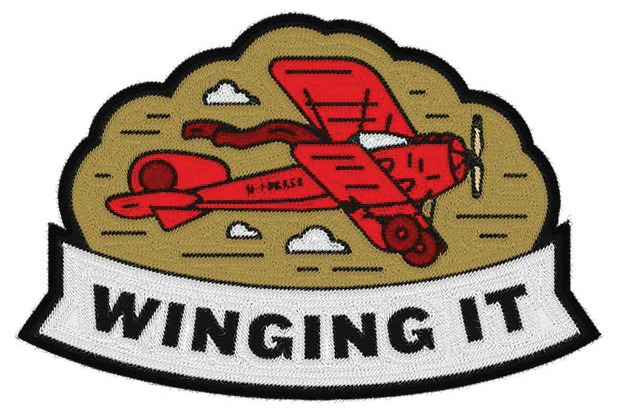 When you have nothing planned for dinner, just wing it!