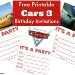 Free Printable Cars 3 Birthday Invitations