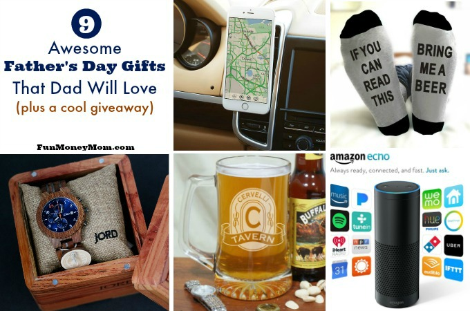 9 Awesome Father's Day Gifts That Dad Will Love (& enter to win a Father's Day giveaway)